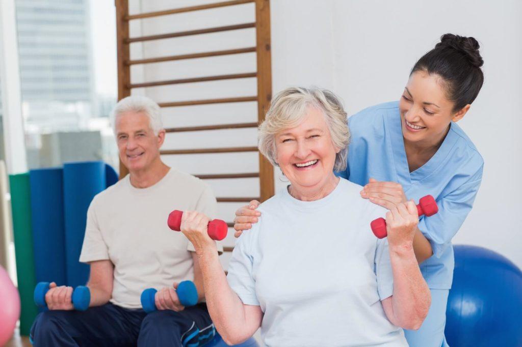 Fizikalna terapija u staračkom domu